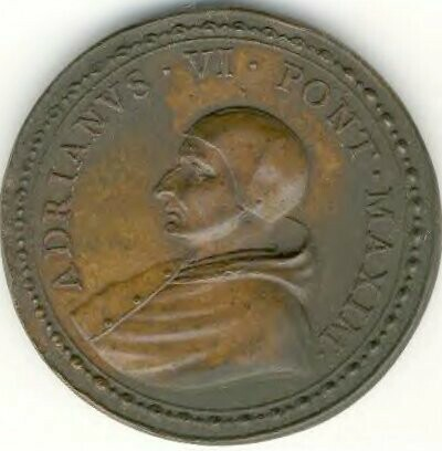 link to page concerning Pope Adrian VI (Dedel)