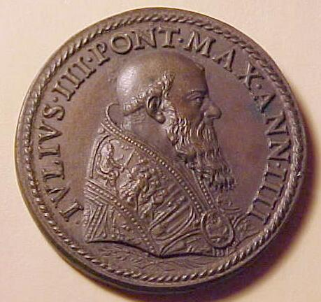 link to page concerning Pope Julius III