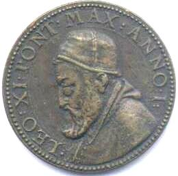 link to page concerning Pope Leo XI, April 1605