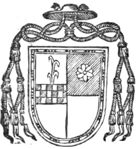 Stemma of Cardinal Spinola; link to page concerning  the Sede Vacante of 1534