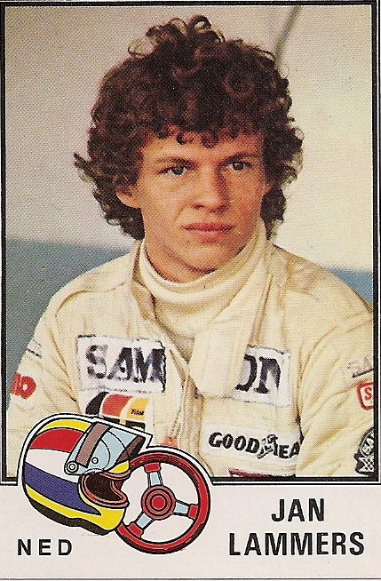 Jan Lammers, Formula 1 driver for The Netherlands