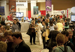 Broad shot of Past Exhibit Hall