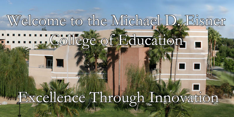 Welcome to the Michael D. Eisner College of Education