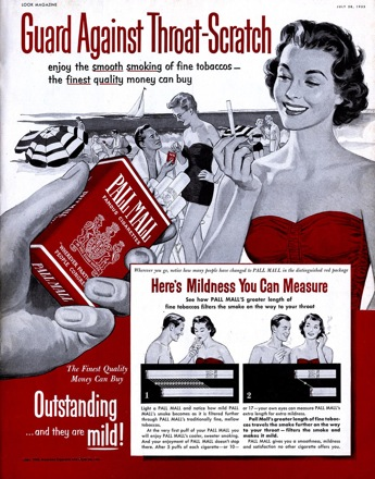 advertising ethics alcohol and tobacco Learn how tobacco laws and smoking policies prevent people from using tobacco products prohibits smokeless tobacco advertising on television and radio 1992 - synar amendment to the alcohol.