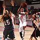 CSUN women's basketball player