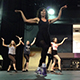 TADW students rehearse a dance last summer
