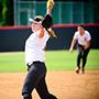 Softball pitcher.