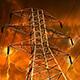 Photo of a power pylon.