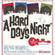 Poster of Ad for Hard Day's Night Screening.
