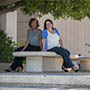 Stephanie Hopkinson and Senta Amos-Greene.