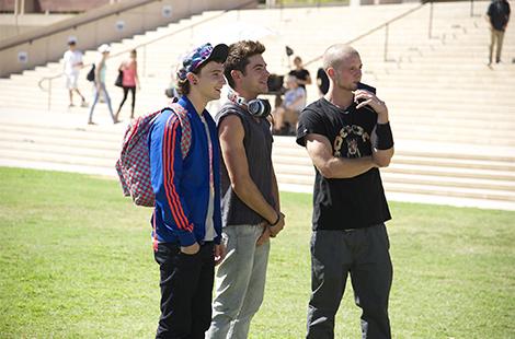Zac Efron at CSUN
