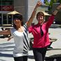 Mamiko Yamai and Paula Thomson