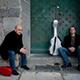 Matteo Mela and Lorenzo Micheli playing guitars.