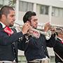 Mariachi band members