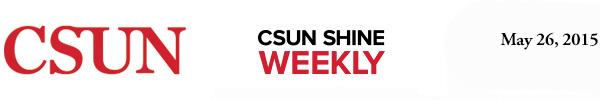 CSUN Shine Weekly, May 27, 2014.