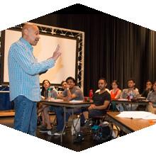 UNAM Film Students Take Workshop at CSUN.