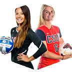 CSUN women's volleyball and soccer players
