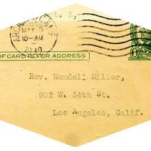 Correspondence from WWII era