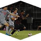 CSUN men's Soccer team player