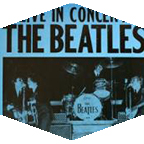 Beatles concert flyer