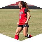 A CSUN women's soccer player