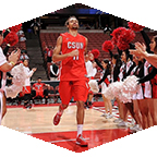 CSUN Men's basketball player