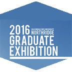 graduate exhibition flyer