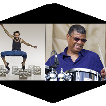 Savion Glover and Jack DeJohnette