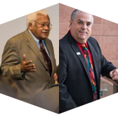 Rev. James Lawson and Harvey Bookstein