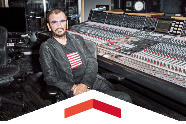 Ringo Starr talks about how much he likes KCSN.