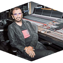 Ringo Starr said his favorite radio station to listen to is KCSN 88.5.