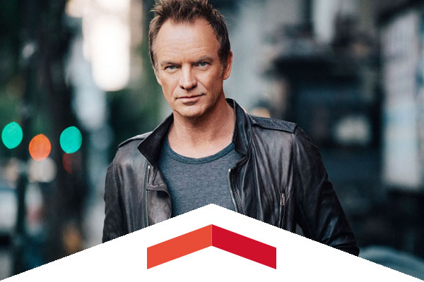 Sting will play a KCSN VIP concert at the Valley Performing Arts Center on August 31.