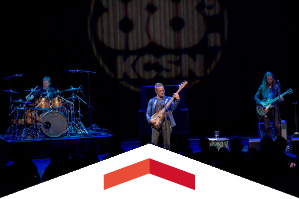 Sting performs at Valley Performing Arts Center for KCSN event.