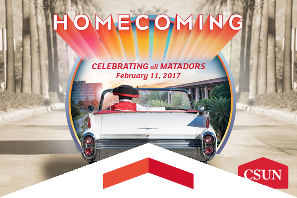 Homecoming returns to CSUN February 11, 2017.