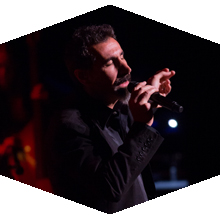 Serj Tankian performed two sold-out shows at the Valley Performing Arts Center.