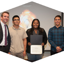 The CSUN Fast Pitch competition gave student entrepreneurs a chance to pitch their business ideas.