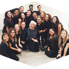 CSUN student musicians and singers perform with world-renowned stars.