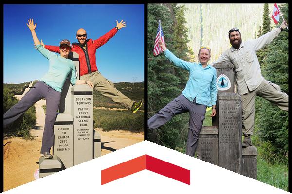 CSUN alumnus Andy Dischekenyan hiked the 2,650-mile long Pacific Trail.