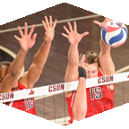 CSUN Men's volleyball takes on Cal Lutheran on January 26 at 7 p.m.