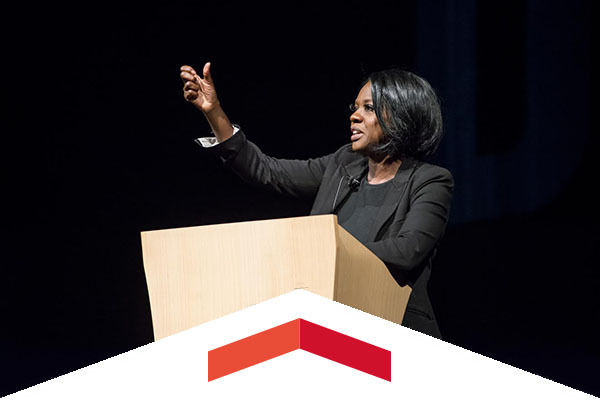 Viola Davis spoke at CSUN's Big Lecture.