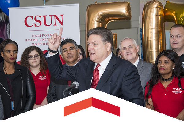 CSUN Volunteer Income Tax Assistance and Senator Hertzberg team up to help low-income families.