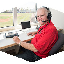 Ross Porter is in his second year calling CSUN Baseball.