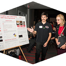 CSUN engineering students show off their best work at the Senior Design Project Showcase.
