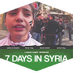 The documentary 7 Days in Syria is showing at the Armer Theatre on May 5 at 7 p.m.