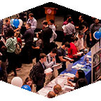Recent graduates and alumni can take part in a job fair on May 23.