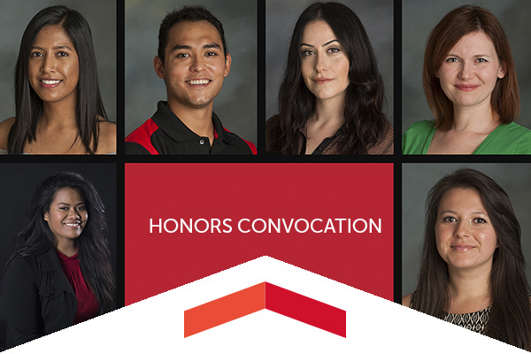 Here are the stories of six outstanding graduates being recognized at Honors Convocation on May 13.