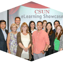 CSUN faculty presented high-tech teaching methods at the fifth annual eLearning Showcase.