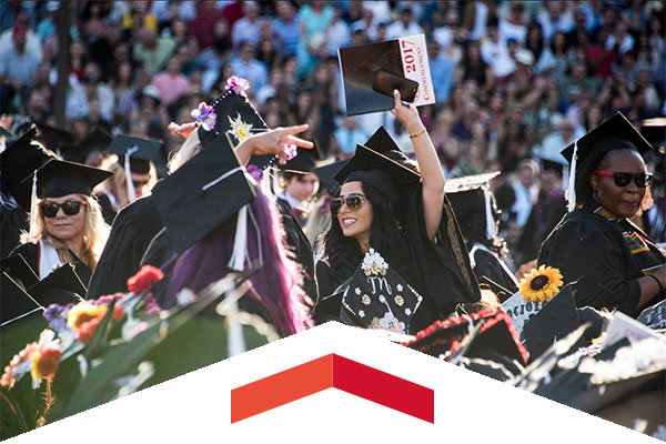 Nearly 11,500 Graduates took part in CSUN commencement 2017.