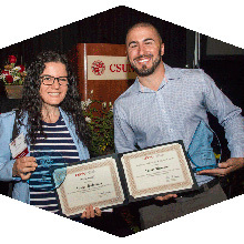 CSUN's 51st annual staff service awards recognized staff members.