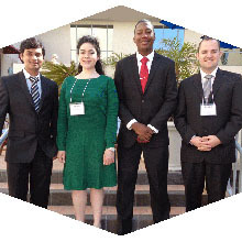 CSUN MBA students took second place at an international business competition.